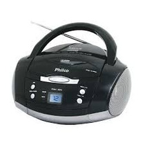 Som Portátil Estéreo Cd, Cd-r/rw E Mp3 Am/fm Bivolt - Philco
