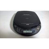 Discman Panasonic Sl - S162 Funciona Bem Cd Player Portátil