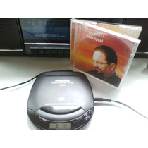 Discman Panasonic Cd Player Portátil Sl-s125