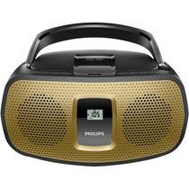 Radio Som Portatil Philips Cd Usb Mp3 Fm Az392x/78
