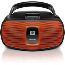 Som Portátil Boombox Philips Az391x/78 Cd/mp3, Usb E Entrada