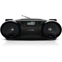 Rádio Portátil Boombox Philips Cd/mp3/usb + Frete + Nf