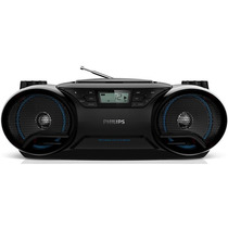 Rádio Portátil Philips, Cd, Usb, Mp3, Am/fm - Az38