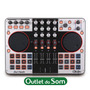Dj Controlador Usb/midi Cdj Dj-tech 4mix/traktor/virtual Dj