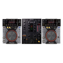 Pioneer 2x Cdj 400 + Mixer Djm 400