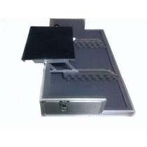 Hard Case Cdj Mixer C/ Plataforma De Notebook Retratil
