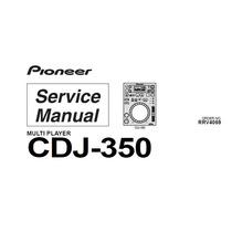 Esquemas Técnicos Para Reparos Cdj-350 Pionner . Completo!!