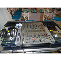Par De Cdj Pioneer 200s +mix Djx 700 + Case
