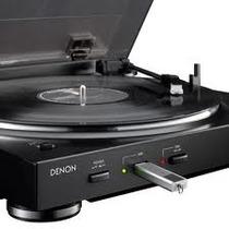 Denon Dp200 Usb - Toca-discos Denon Totalmente Automático