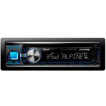 Cd/mp3 Player Alpine Cde-133bt C/ Entrada Usb E Bluetooth