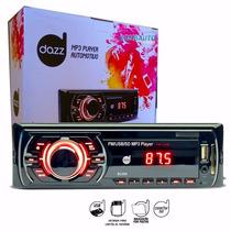 Aparelho Mp3 Automotivo Dazz Ent. Cartão Memória Usb Aux