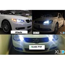 Kit C/ 7-xleds Automotivo/meia Luz/internas/re/placa