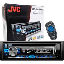 Cd Player Toca Mp3 Carro Jvc Kd-r869bt Bluetooth Aux Usb