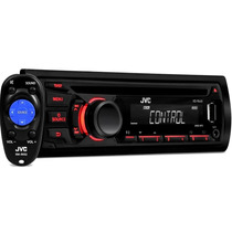 Cd Player Jvc Kd R449 Usb Auxiliar Mp3 Radio Am Fm Toca Cd