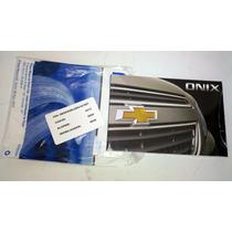 Manual Do Onix Todos Os Anos + Infocard C/ Todas Senhas Novo