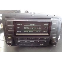 Cd Original Vw Fox 2014 Cd Mp3 Usb Cartão Bluetooth Auxiliar