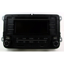 Cd Player Mp3 Bluetooth Original 5z0035160 Para Vw Fox 2015