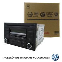 Cd E Mp3 Player - 2 Din Original Vw 6qe-035-152-g Polo Golf