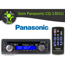 Som Cd Player Panasonic Cq-1301u Mp3 Display De Texto