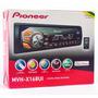 Media Receiver Pioneer Mvh-x168ui Com Usb, Auxiliar P2 Front