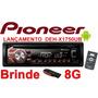 Toca Cd Player Mp3 Usb Pioneer Mixtrax + Pen Drive 4gb