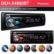 Cd / Mp3 Player Pioneer Deh-x6780bt Mixtrax Bluetooth Usb