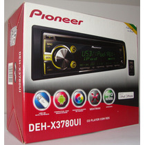 Toca Cd Pioneer Deh-x3780ui Mixtrax + Usb + Iphone / Android