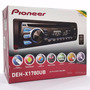Toca Cd Player Mp3 Pioneer Deh X1780 Mixtrax Usb Frontal