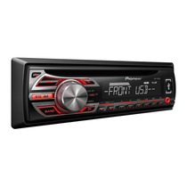 Toca Cd Player Pioneer Automotivo Deh 1550 Radio Aux Mp3 Usb