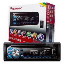 Cd Player Pioneer Deh-x1780ub Mixtrax Usb Aux Rca Subwoofer