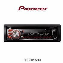 Toca Cd P/carro Pioneer Deh-x2650ui Usb/cd/mixtrax Nfe
