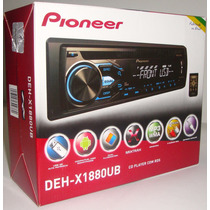 Cd Player Pioneer Deh-x1880ub Mixtrax Usb Saida Subwoofer
