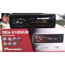 Cd Player Pioneer Deh-x1750ub Mixtrax - Usb / Mp3 - Novo!!!!