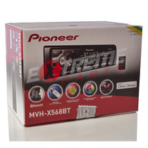 Media Receiver Pioneer Mvh X568 Bt Mixtrax Iphone / Android