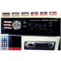 Som Player Automotivo Xplod Cdx-gt1235 Am/fm Mp3 Usb Sd/mmc