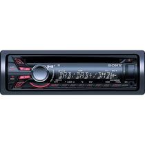 Cd Player Sony Cdx-gt520u Usb E Aux Frontal Mp3 Wma Aac Novo