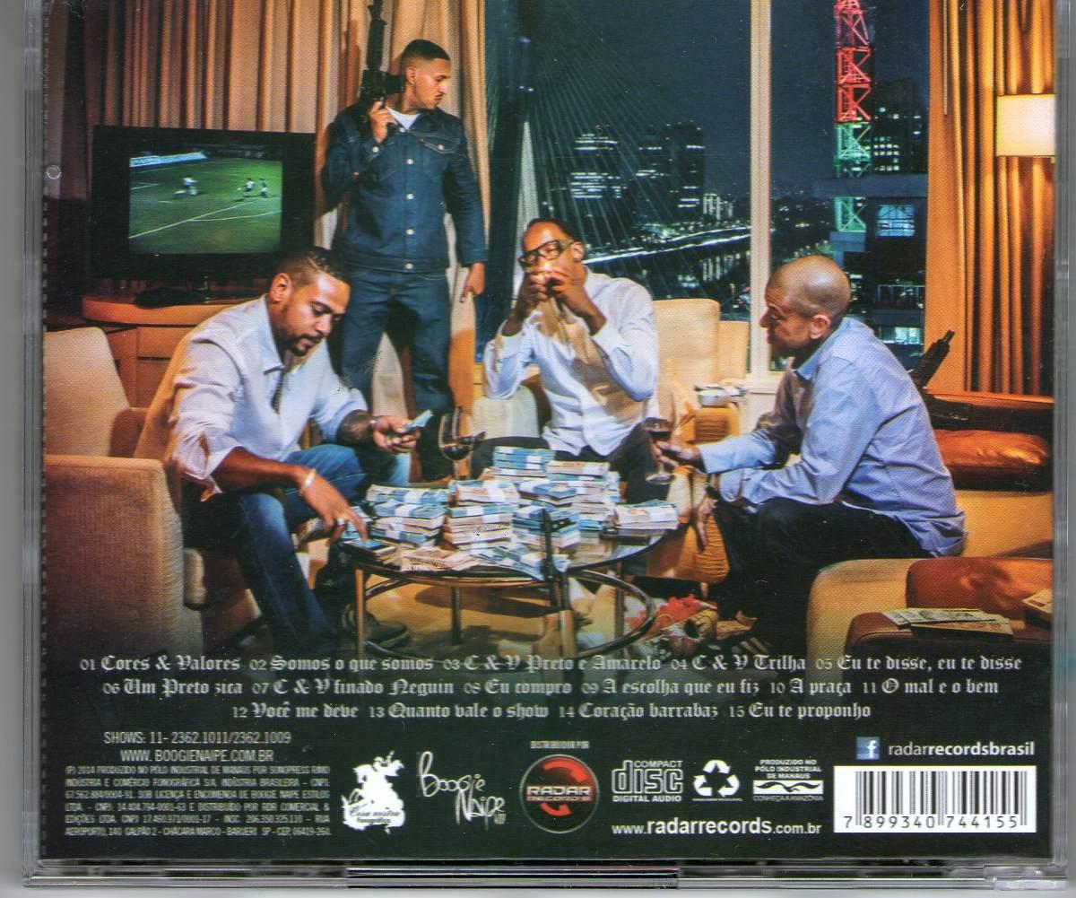 cd racionais mcs 2011