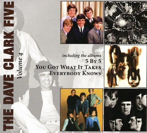 Cd - The Dave Clark Five - Volume 4 - Anos 60