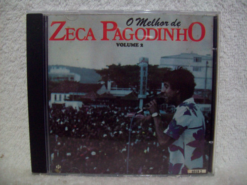 Cd Zeca Pagodinho- O Melhor De Zeca Pagodinho- Volume 2