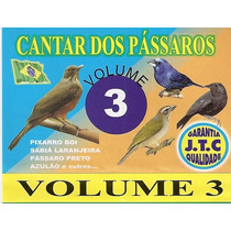 Fita K7 O Cantar Dos Pásaros Vol. 3. Frete Gratis + Promoção