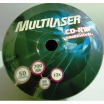 Cd-rw Multilaser C/ 50 Unidades