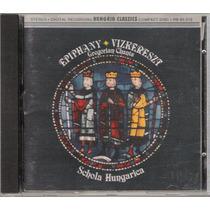 Cd Epiphany Vizkeresz Gregorian Chants T Schola Hungarica