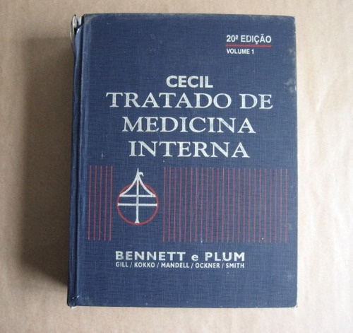 Cecil Tratado De Medicina Interna - Bennett E Plum