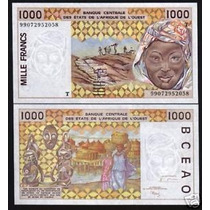 West African States Togo P-811 Ti Fe 1.000 Francs 1999 * Q J