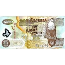 Zambia - 500 Kwacha 2011 (polímero) --- =11367=