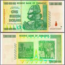 Zimbabwe Zimbabue P-83 Fe 1.000.000.000 Dollars 2008 * Q J *