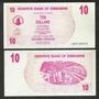 Zimbabwe, 10 Dollars, 2006, Bearer Cheque, Fe.