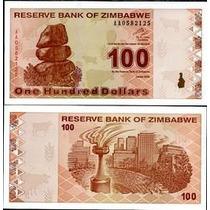 Zimbabwe Zimbabue P-97 Fe 100 Dollars 2009 * Q J *