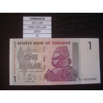 (ext.129) Zimbabwe - One Dollar - 2007 - Fe