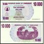 Zimbabwe Zimbabue P-46b Fe 10.000 Dollars 2006 * Q J *